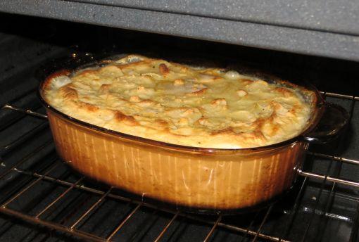 Scalloped Potatoes Baking