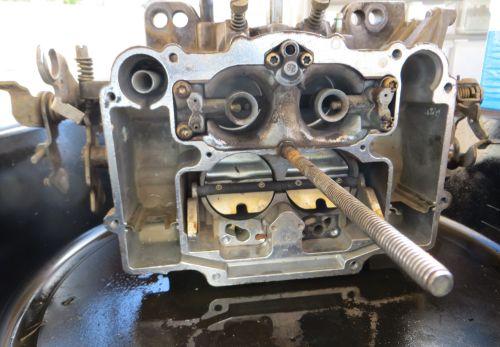 Bronco carburetor prior to Venturi tube removal
