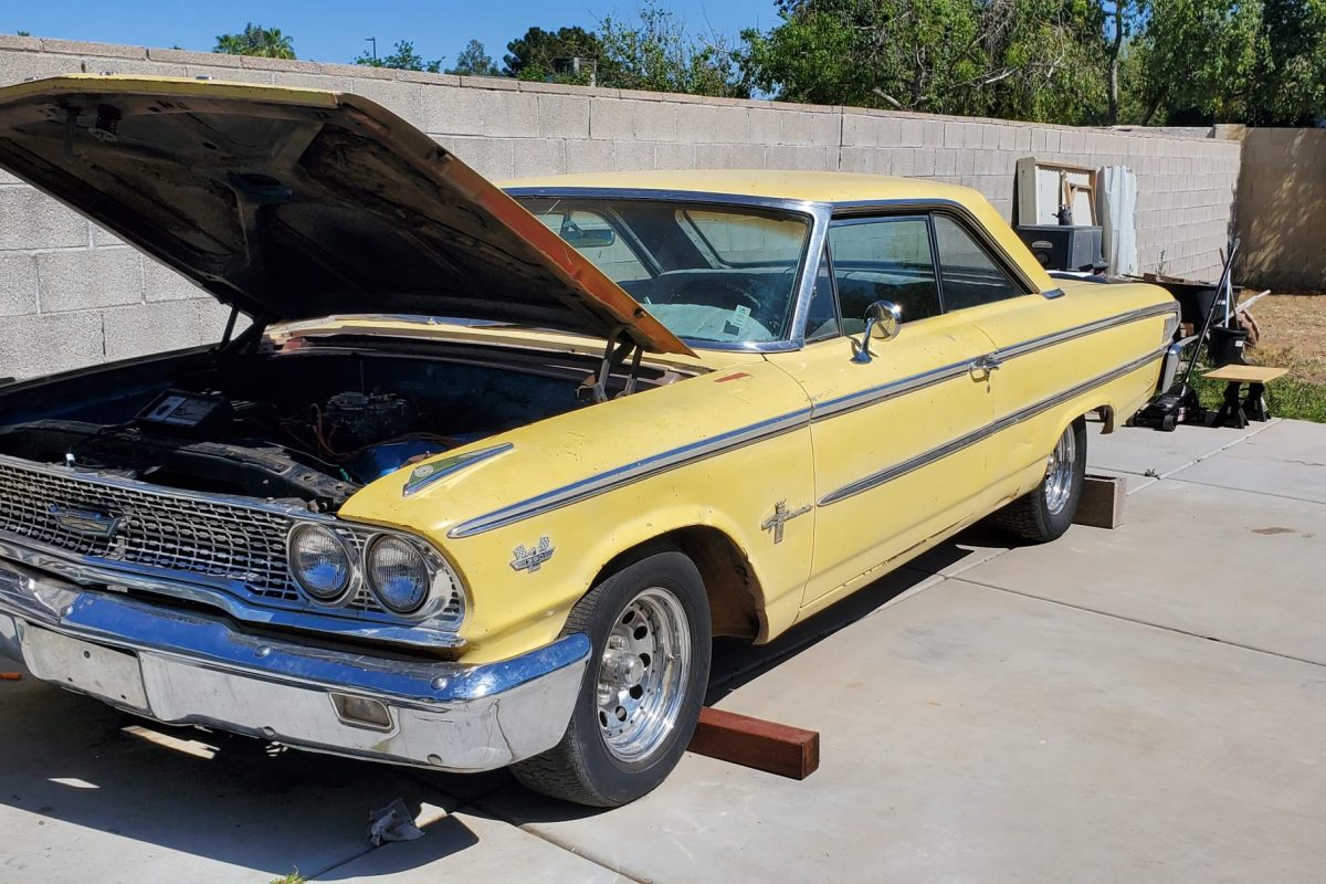 1963 Ford Galaxie 500 Fastback – Restoration