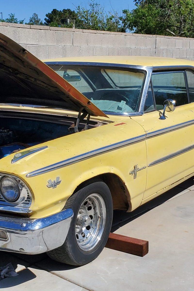 1963 Ford Galaxie 500 Fastback – Restoration